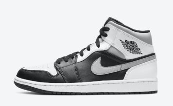 Air Jordan 1 Mid White Shadow 554724-073 Release Date Info