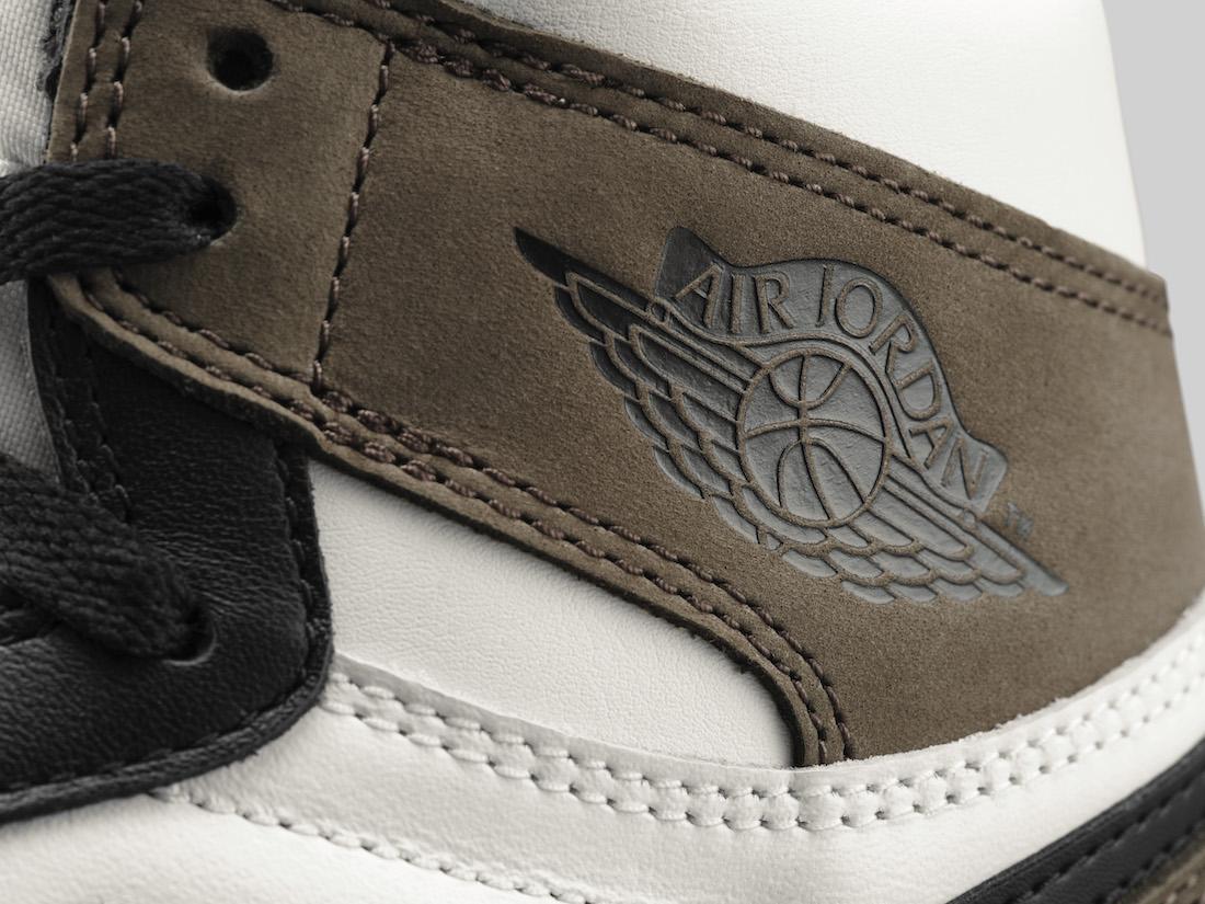 Air Jordan 1 Retro High OG Dark Mocha 555088-105 Release Info