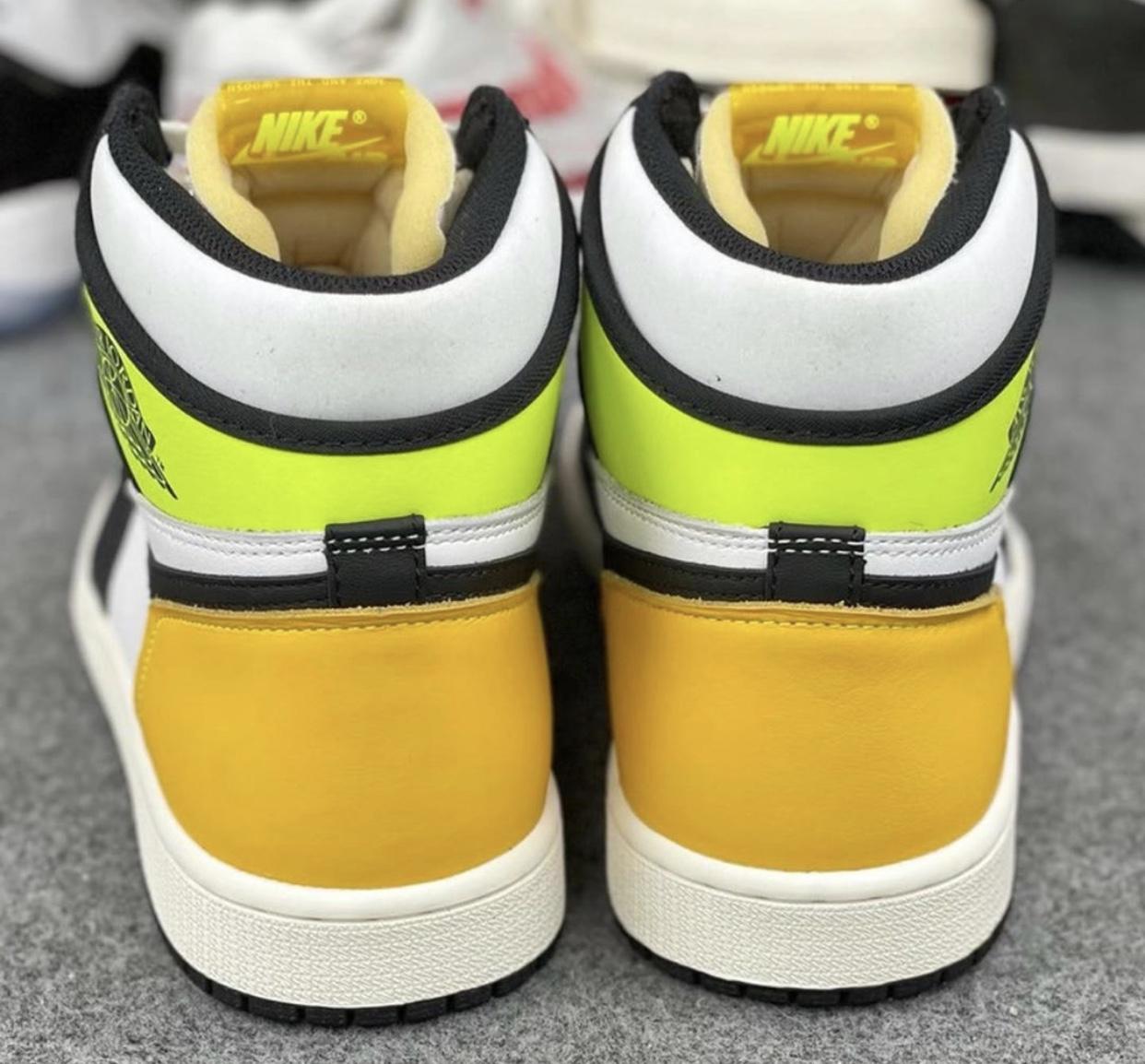 Air Jordan 1 Volt Gold 555088-118 Release Details