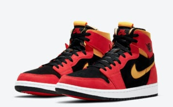 Air Jordan 1 Zoom Comfort Chile Red University Gold CT0978-006 Release Info