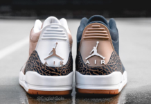Air Jordan 3 Denim Air Jordan 3 Khaki Samples Heel
