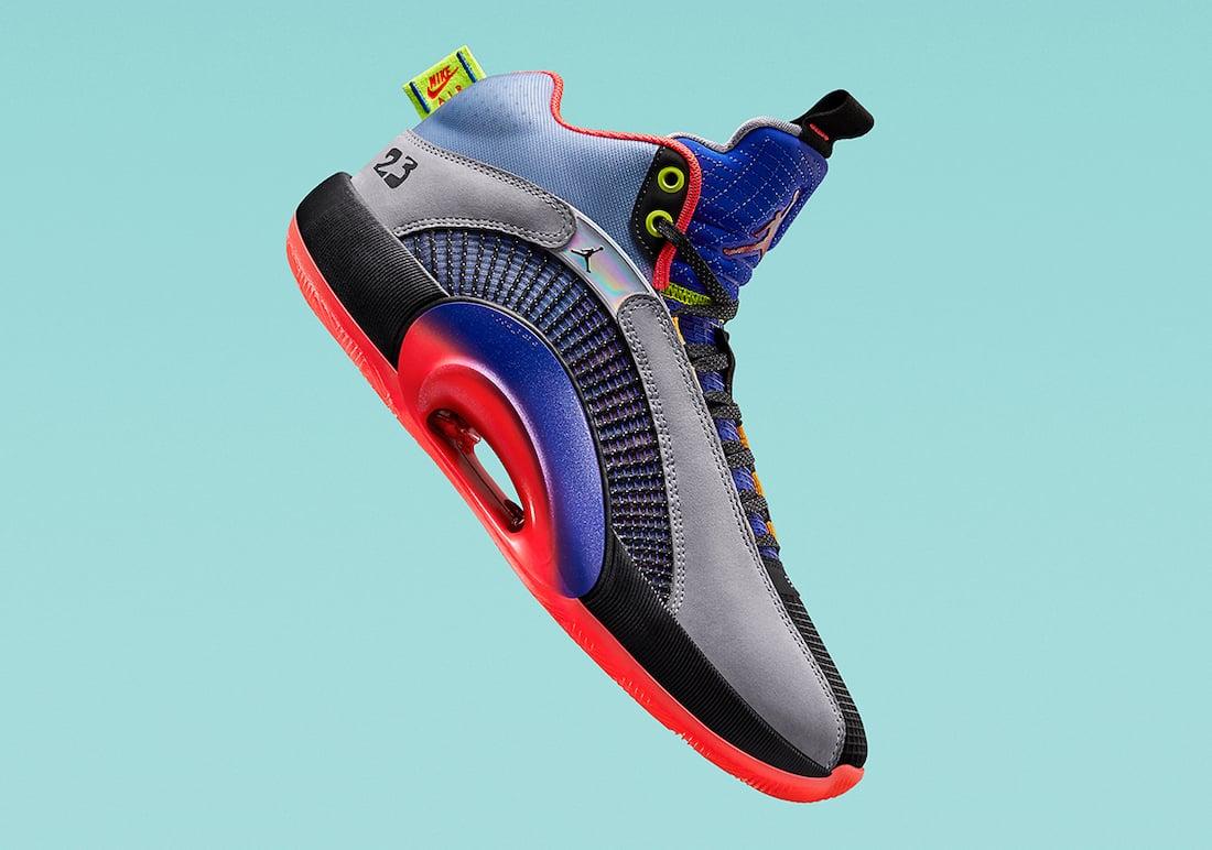 Air Jordan 35 XXXV Center of Gravity Release Date