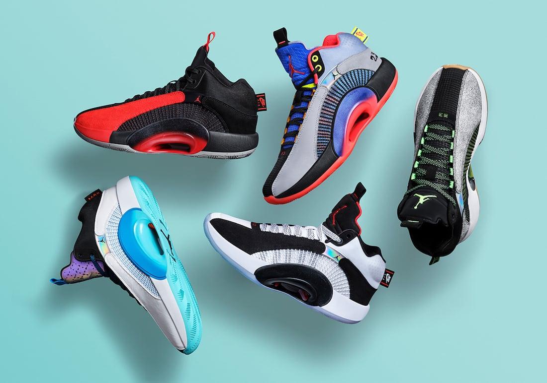 Air Jordan 35 XXXV Release Details