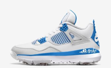 Air Jordan 4 Golf Military Blue CU9981-101 Release Date Info