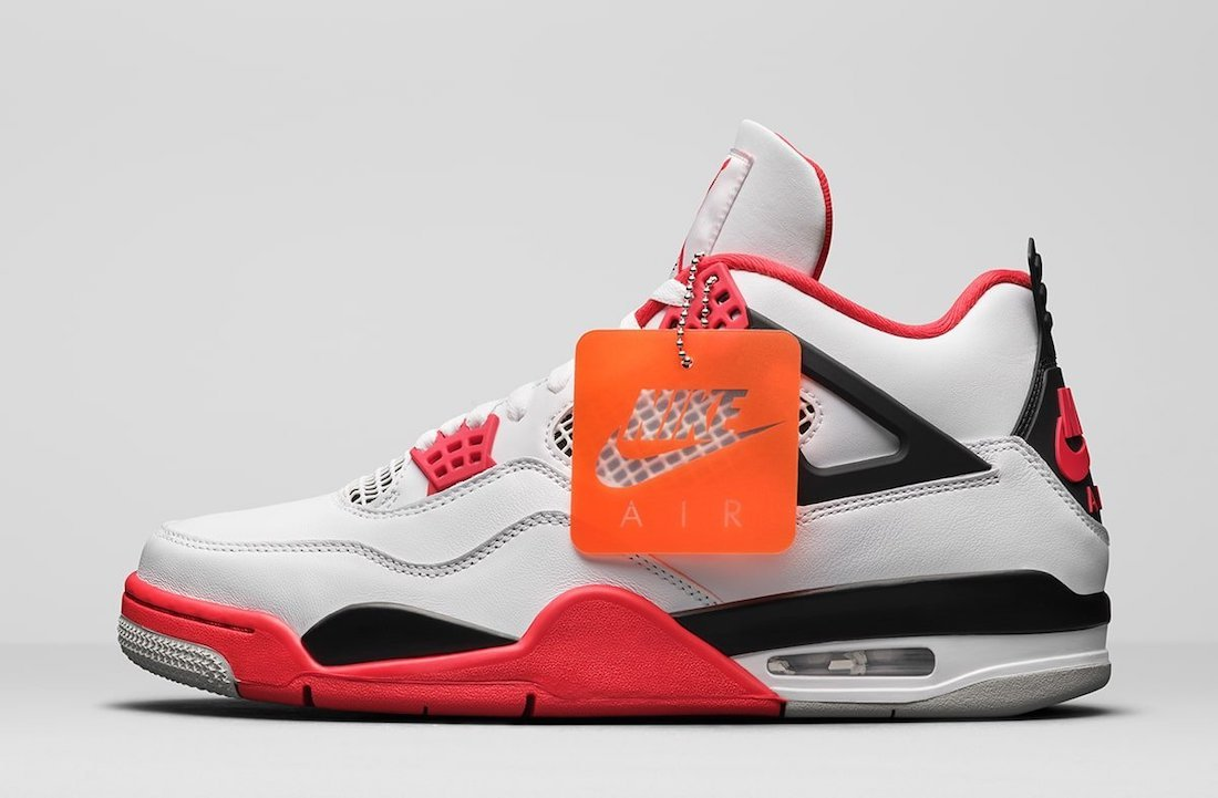 Air Jordan 4 OG Fire Red DC7770-160