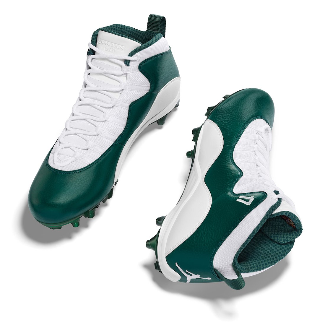Alshon Jeffery Air Jordan 10 NFL 2020 PE Cleats