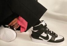 Ambush Nike Dunk High Black White