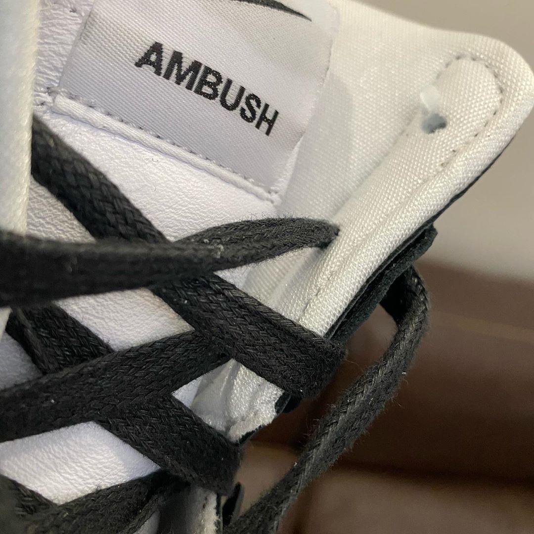 Ambush Nike Dunk High Black White Release Date
