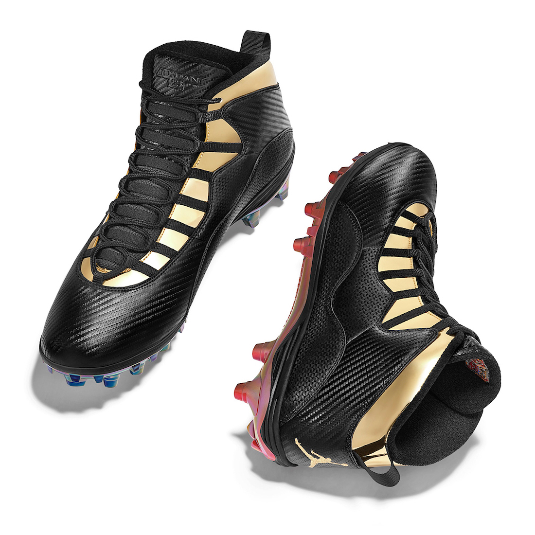Cam Jordan Air Jordan 10 NFL 2020 PE Cleats