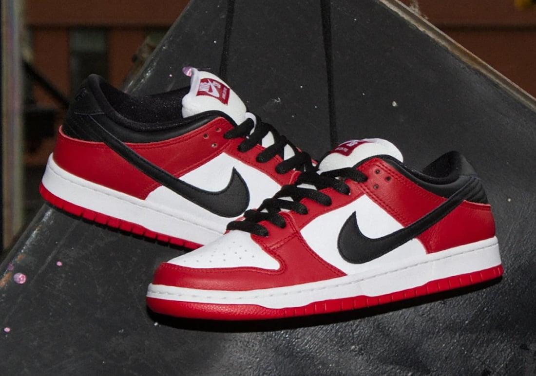 Chicago Nike SB Dunk Low BQ6817-600