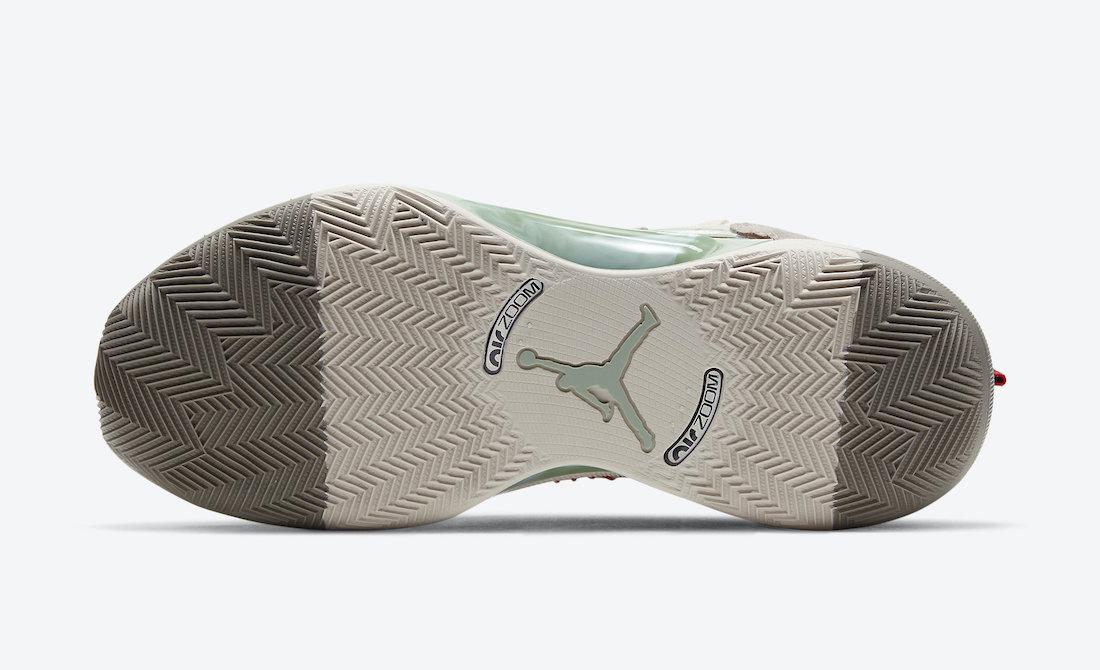 Clot Air Jordan 35 XXXV Sepia Stone DD9322-200 Release Date