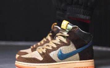 Concepts Nike SB Dunk High Duck On Feet