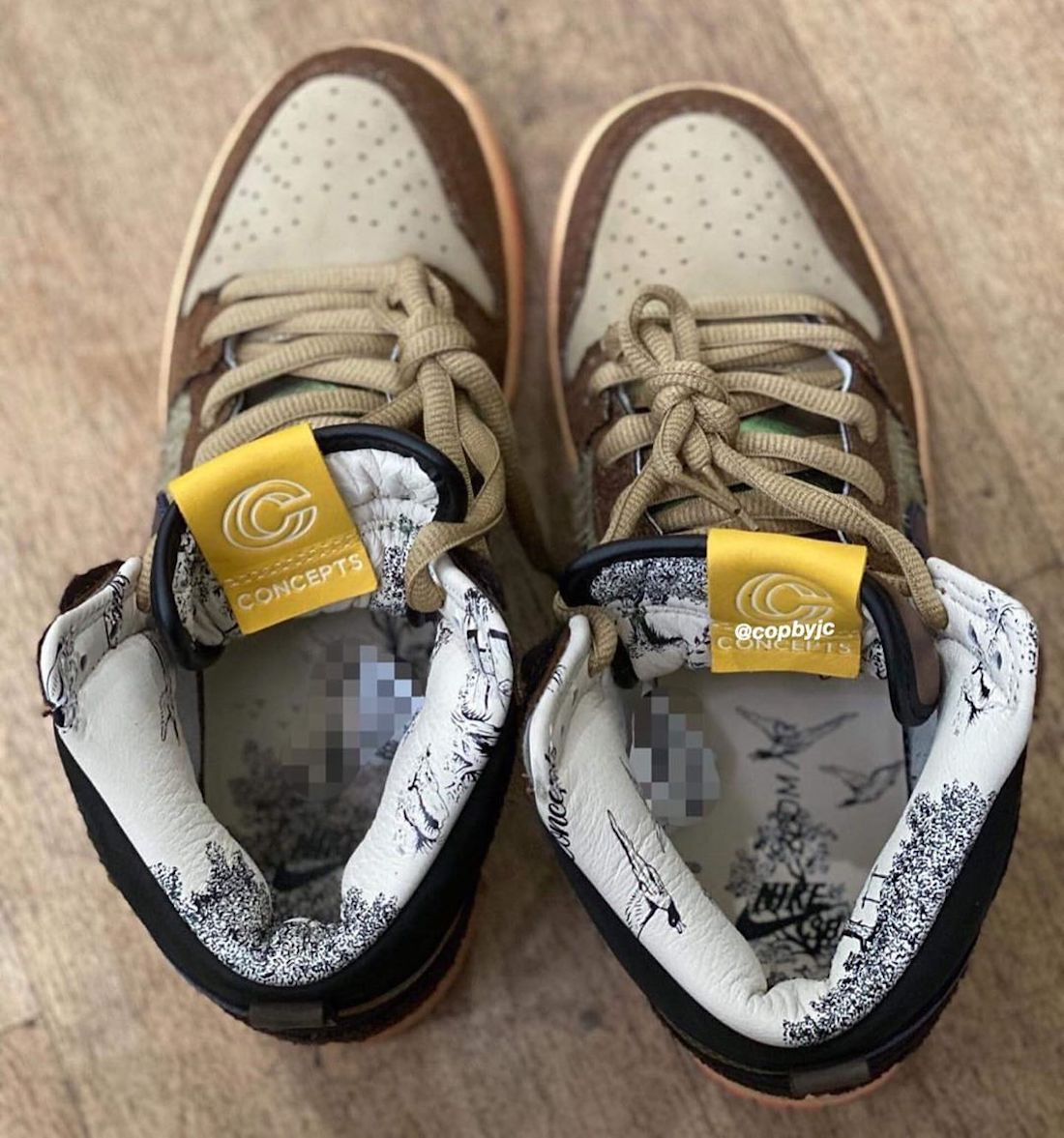 Concepts Nike SB Dunk High Duck Release Date Info