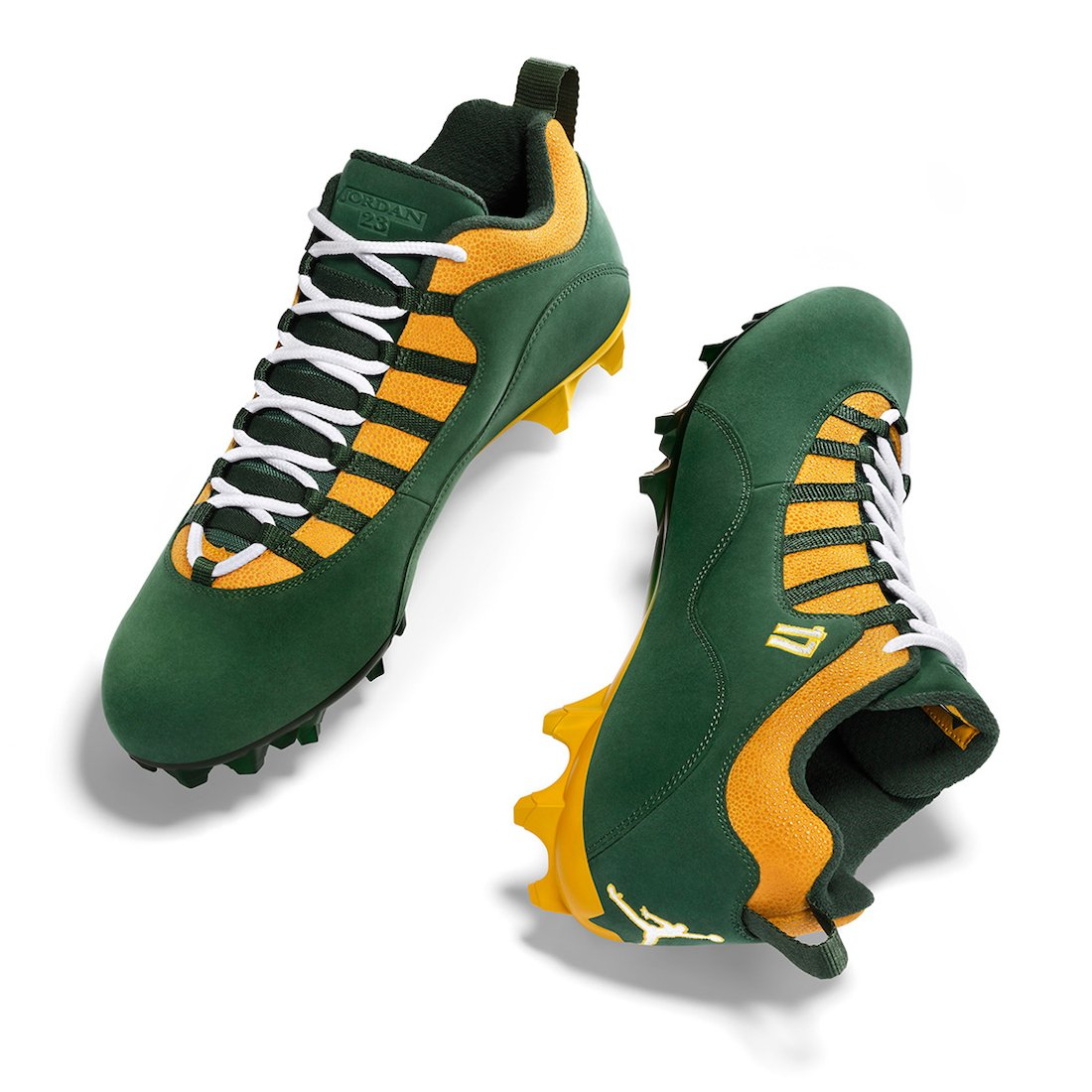 Devante Adams Air Jordan 10 NFL 2020 PE Cleats