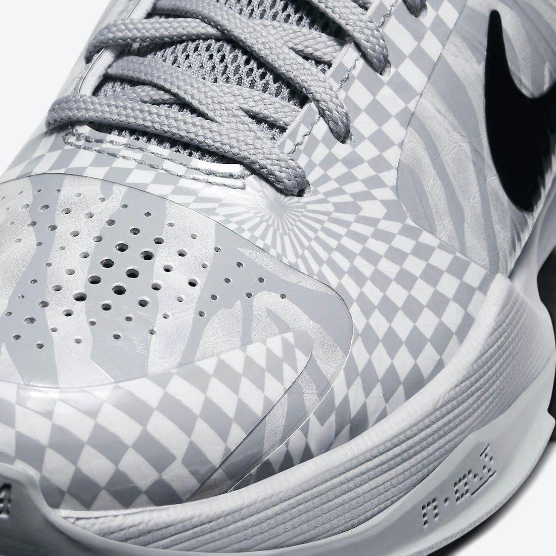 DeMar DeRozan Nike Kobe 5 Protro Zebra CD4991-003 Release Date