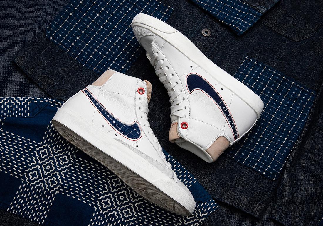 Denham Nike Blazer Mid CU8054-100 Release Date