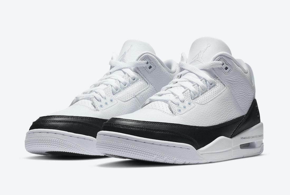 Fragment Air Jordan 3 DA3595-100 Price Release Date