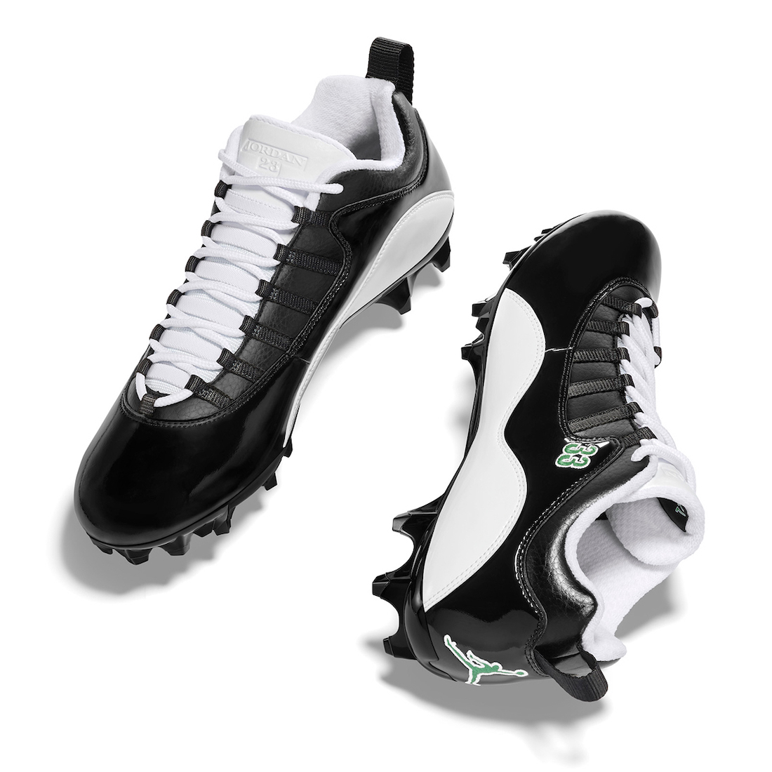 Jamal Adams Air Jordan 10 NFL 2020 PE Cleats