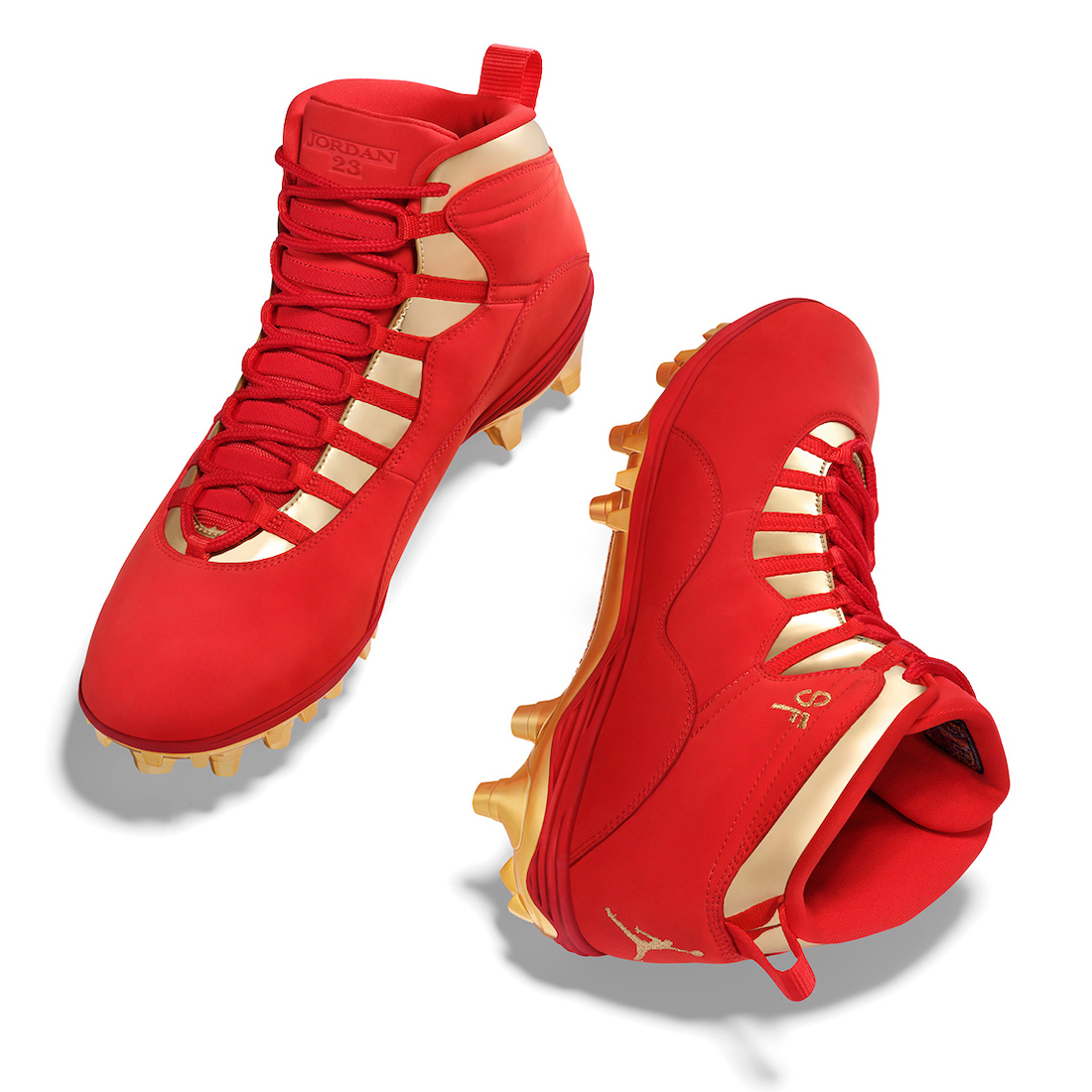 Jimmy Garrapolo Air Jordan 10 NFL 2020 PE Cleats