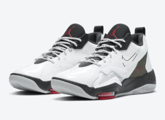 Jordan Zoom 92 White Black Gym Red CK9183-106 Release Date Info