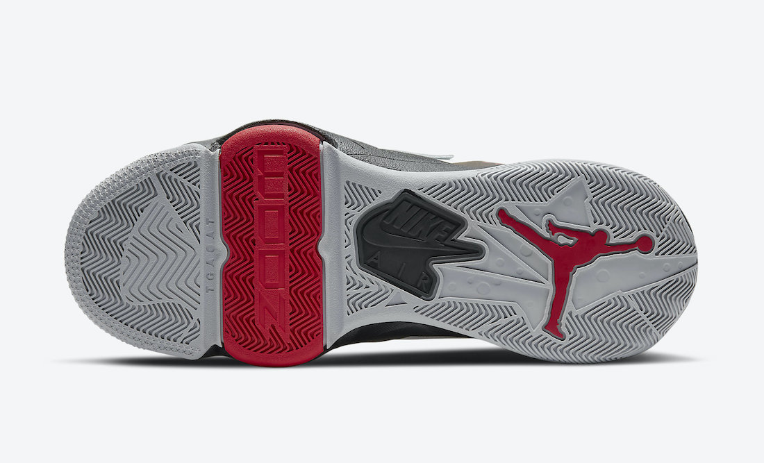 Jordan Zoom 92 White Black Gym Red CK9183-106 Release Date Info