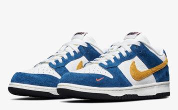 Kasina Nike Dunk Low Industrial Blue CZ6501-100 Release Date
