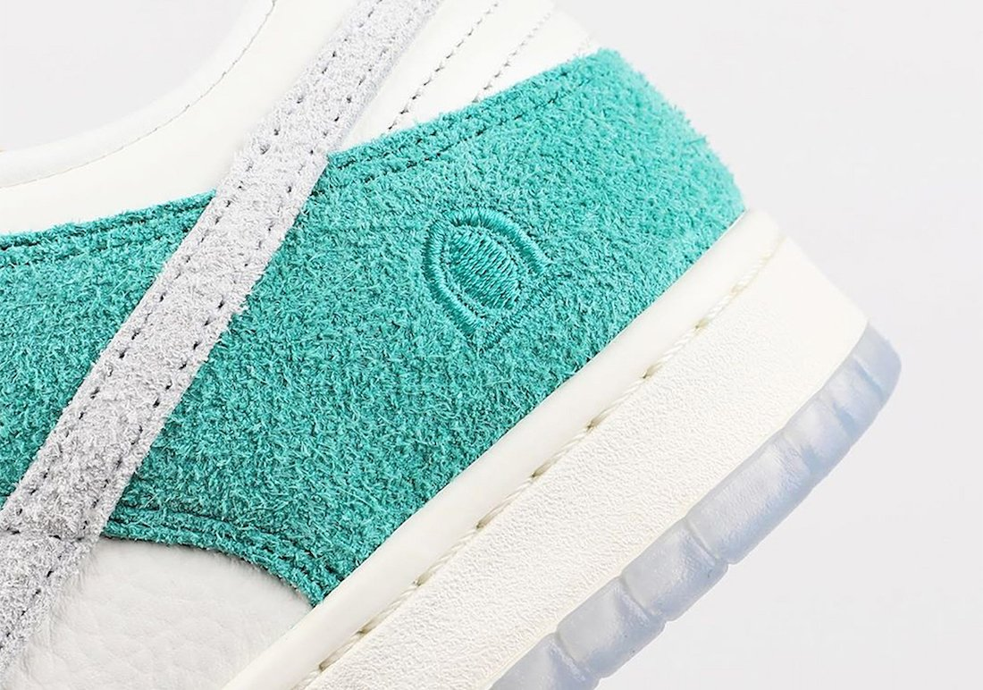 Kasina Nike Dunk Low Neptune Green Road Sign CZ6501-101 Release Date