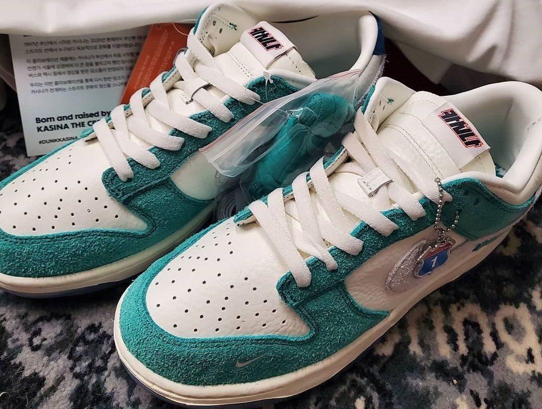 Kasina Nike Dunk Low Neptune Green