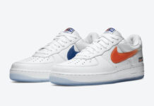 Kith Nike Air Force 1 NYC White CZ7928-100