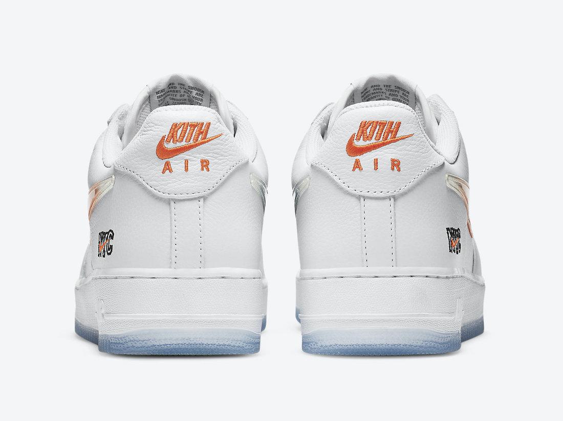 Kith Nike Air Force 1 NYC White CZ7928-100