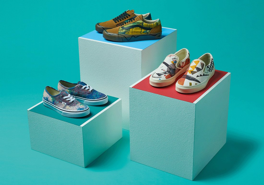 MoMA Vans Sneaker Collection Release Date Info