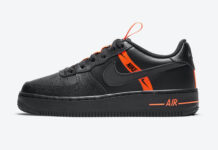 Nike Air Force 1 Black Orange CT4683-001 Release Date Info