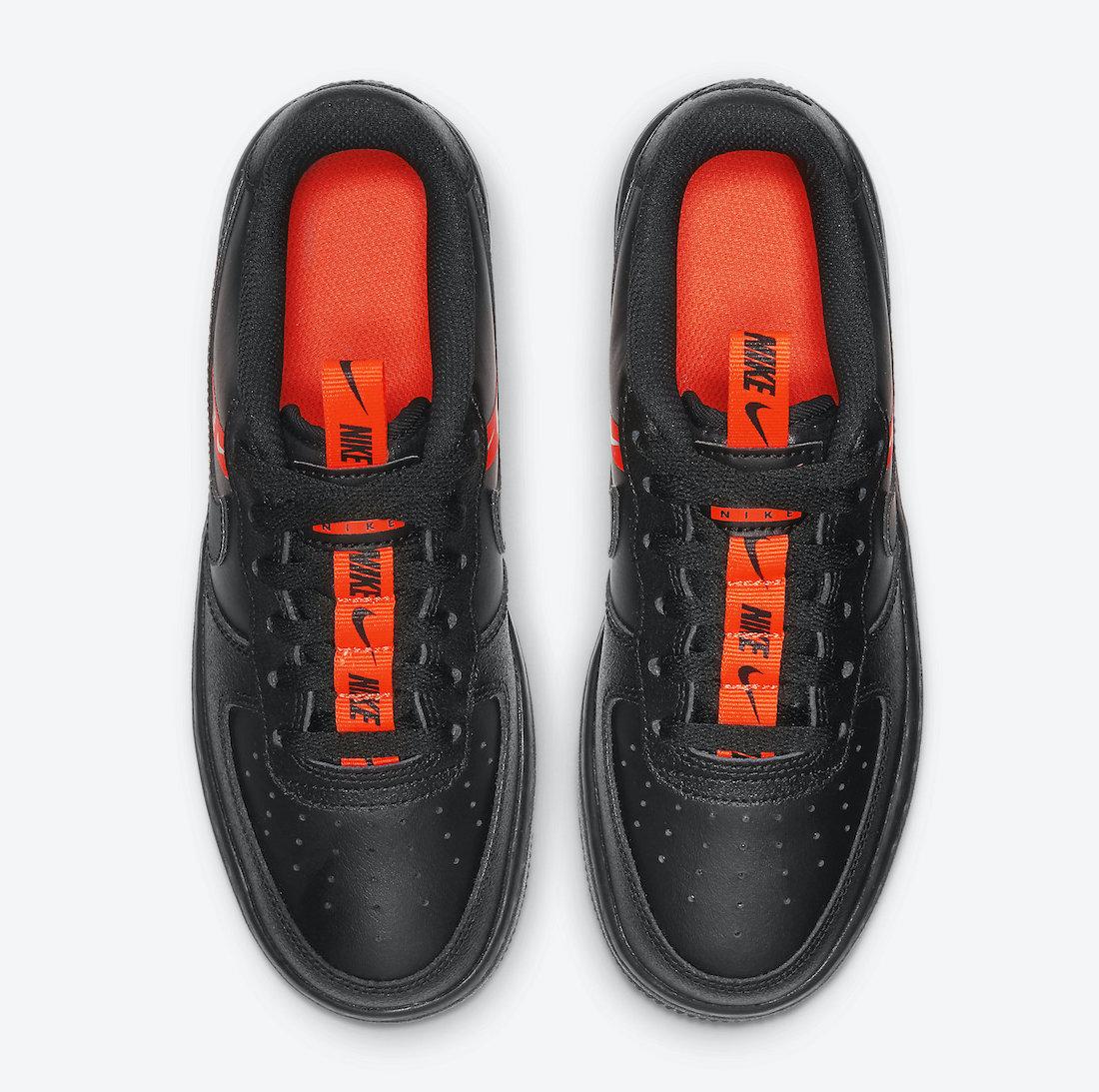 Nike Air Force 1 Black Orange CT4683-001 Release Date Info