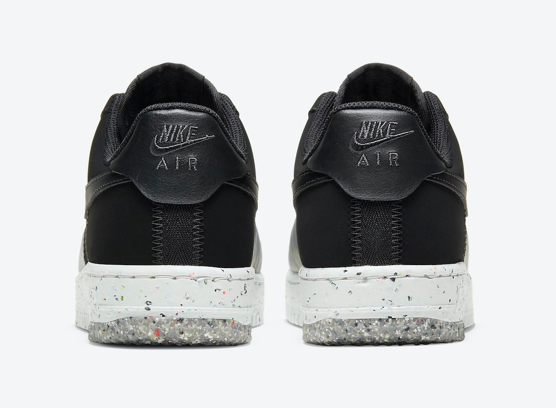 Nike Air Force 1 Crater Foam Black Photon Dust CT1986-002 Release Date Info