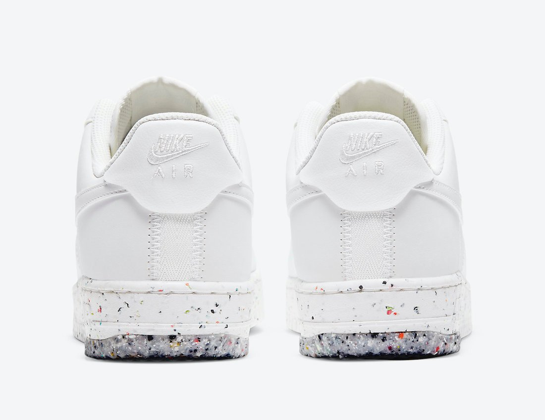 Nike Air Force 1 Crater Foam Summit White CT1986-100 Release Date Info