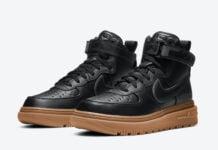 Nike Air Force 1 Gore-Tex Boot Black Gum CT2815-001 Release Date Info