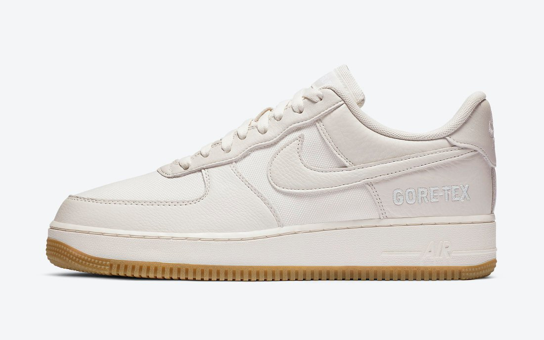 Nike Air Force 1 Gore-Tex Sail Gum DC9031-001 Release Date Info