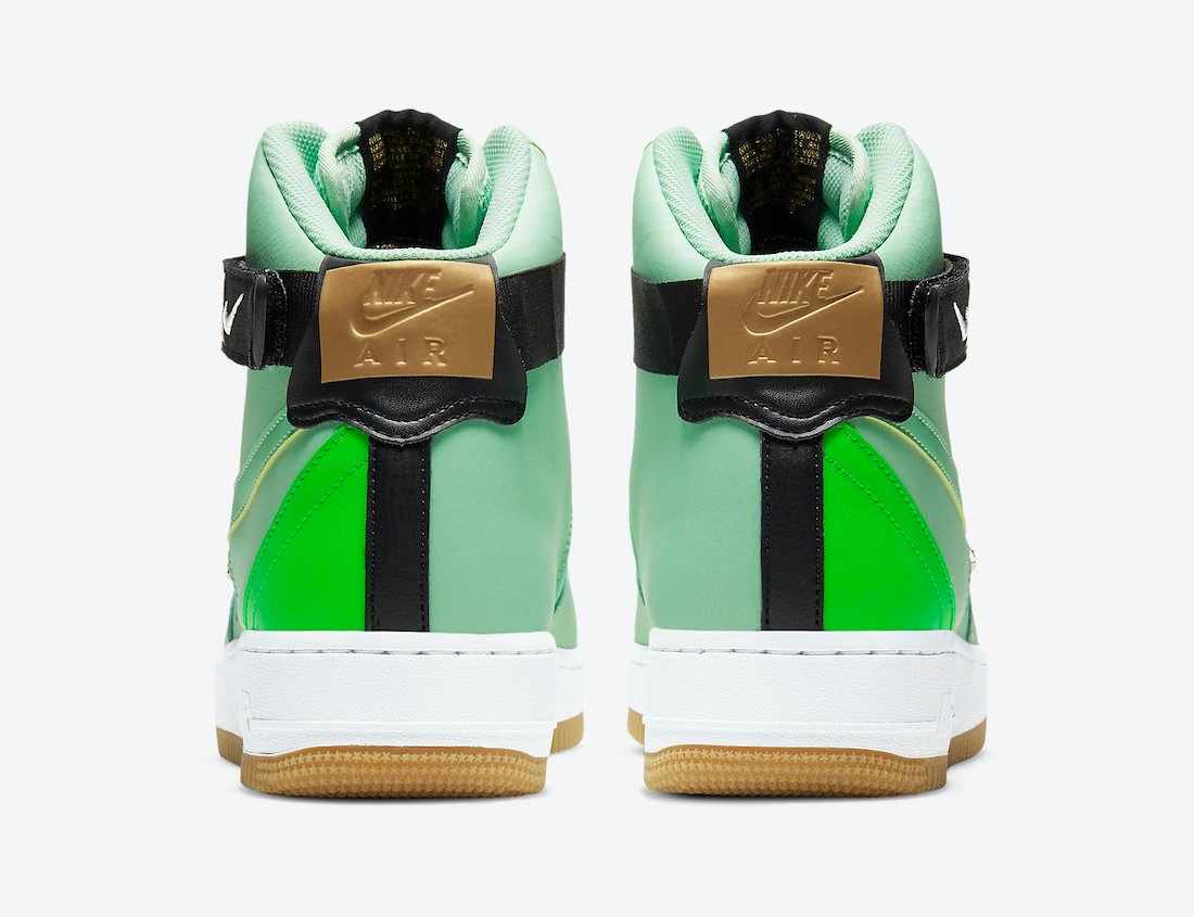 Nike Air Force 1 High NBA Green CT2306-100 Release Date Info