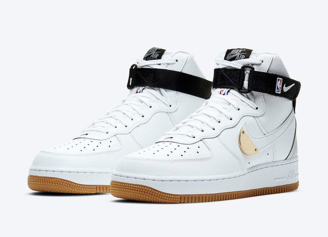 Nike Air Force 1 High NBA Pack CT2306-100 Release Date Info