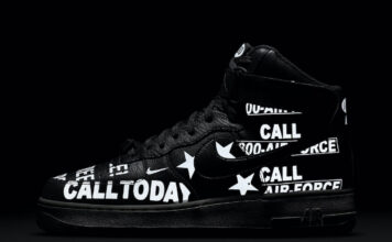 Nike Air Force 1 High Toll Free CU1414-001 Release Date Info