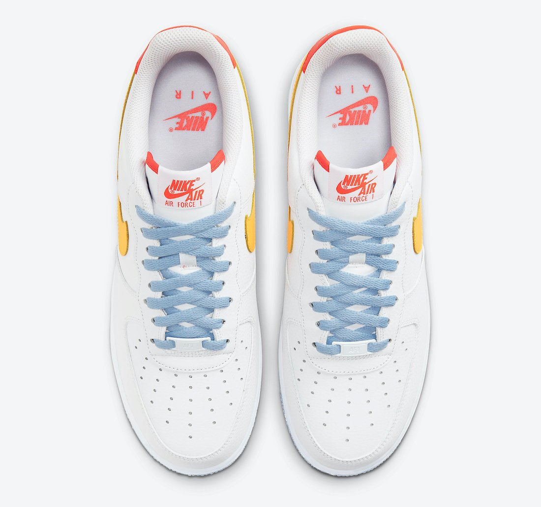 Nike Air Force 1 Low Be Kind DC2196-100 Release Date Info