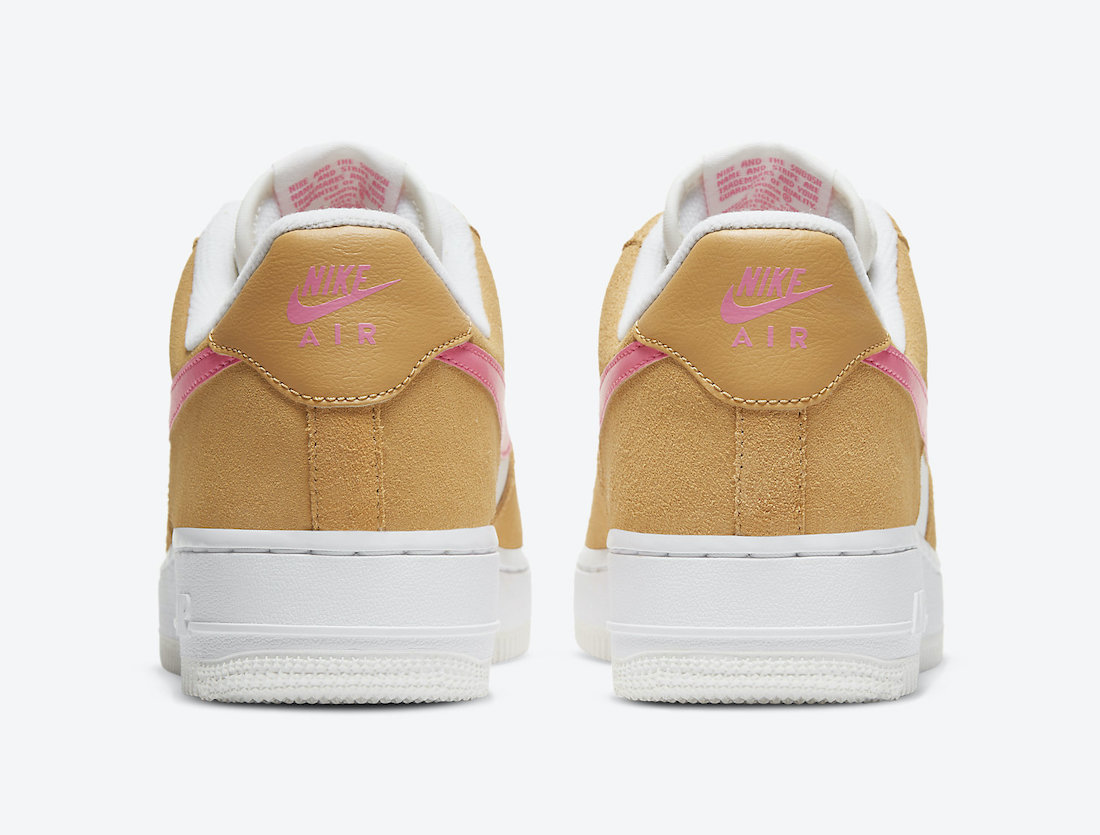 Nike Air Force 1 Low Flax White Pink DC1156-700 Release Date Info