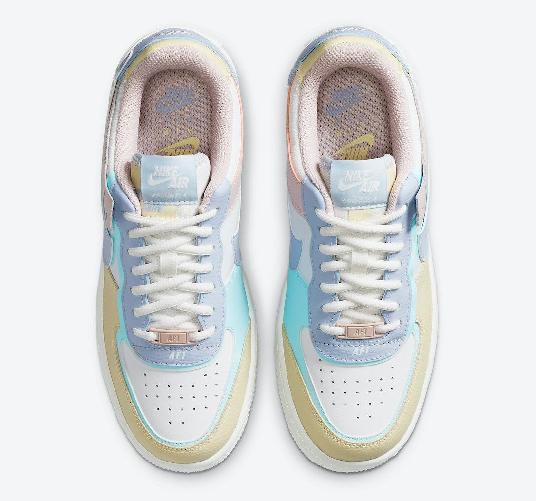 Nike Air Force 1 Shadow Pastel CI0919-106 Release Date Info