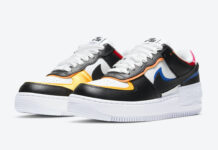 Nike Air Force 1 Shadow White Black Multicolor DC4462-100 Release Date Info