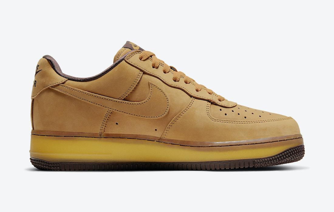 Nike Air Force 1 Wheat Mocha DC7504-700 Release Date