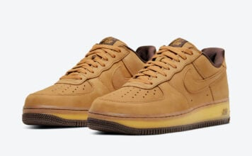 Nike Air Force 1 Wheat Mocha DC7504-700 Release Date