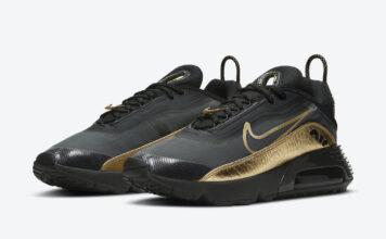 Nike Air Max 2090 Black Gold DC2191-001 Release Date Info