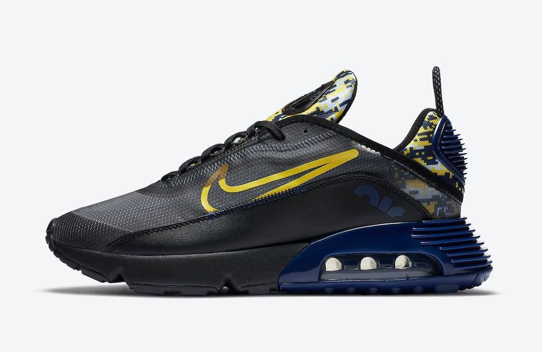 Nike Air Max 2090 Yellow Camo DB6521-001 Release Date Info
