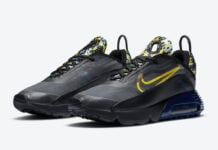 Nike Air Max 2090 Yellow Camo DB6521-001 Release Date Info