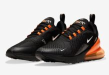 Nike Air Max 270 Black Orange DC1938-001 Release Date Info